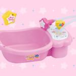 メルちゃんのお風呂(バスタブ)の動画、遊び方のレビュー